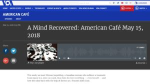 Voice of America American Cafe David Byrd Interview 15 May 2018